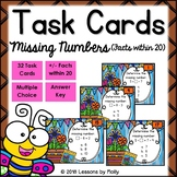 Find Missing Numbers for Addition and Subtraction Facts wi