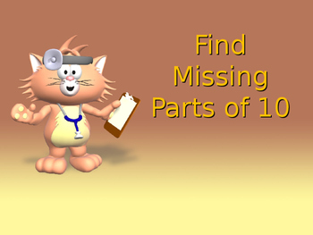 Find Missing Parts of 10 Powerpoint