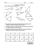 Find Missing Triangle Measures Versatile