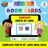 Find More or Less with Dice | Pre-k Kindergarten Math Numb