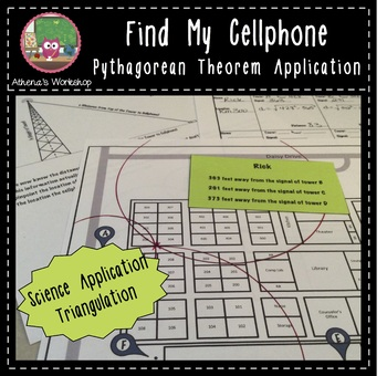 Find My Cellphone - Pythagorean Theorem Application