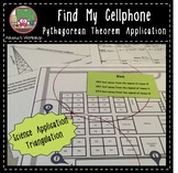 Find My Cellphone - Pythagorean Theorem Activity