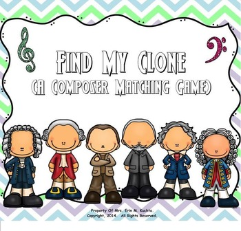 Find My Clone:  A Composer Matching Game