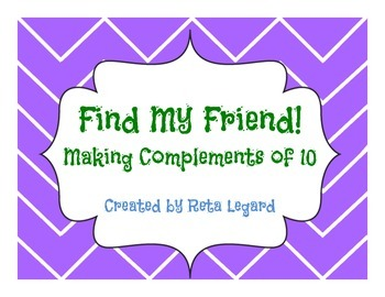 Find My Friend - Complements of 10 Game
