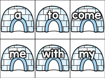 Find My Home: Sight Word Matching Game