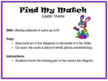Find My Match-Easter