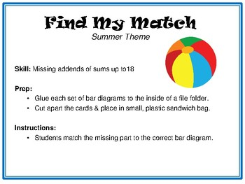 Find My Match-Summer