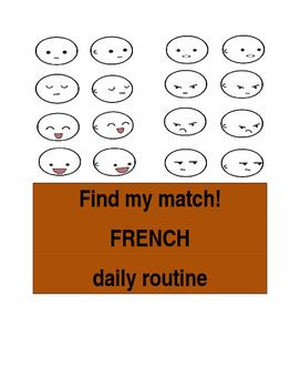 Find My Match daily routine FRN