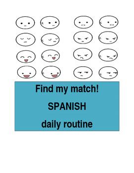 Find My Match daily routine SPN