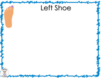 Sorting/Matching- Where are My Shoes?