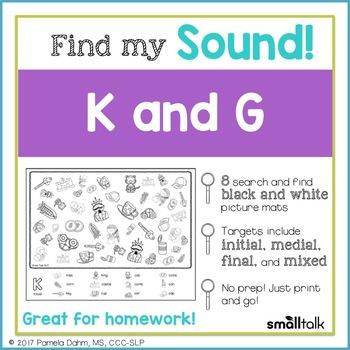 Find My Sound: K and G