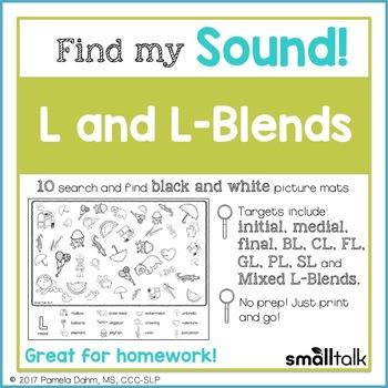 Find My Sound: L and L-Blends