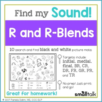 Find My Sound: R and R-Blends