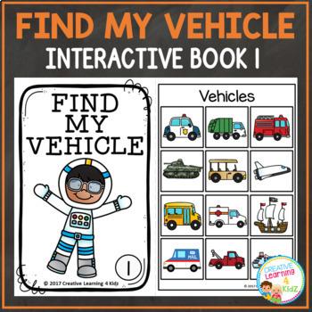 Find My Vehicle Interactive Book Bundle Community Helpers
