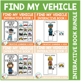 Find My Vehicle Interactive Book Bundle Community Helpers
