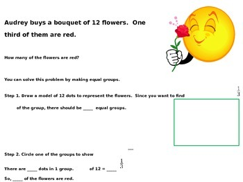 Find Part of a Group Using Unit Fractions