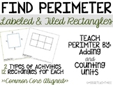 Find Perimeter of Rectangles