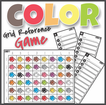 Learning Colors Find, Read and Write Color Sight Words Grid ...