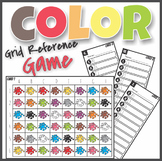 Learning Colors Find, Read and Write Color Sight Words Grid Reference Game