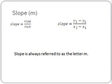 Find Slope and Rate of Change