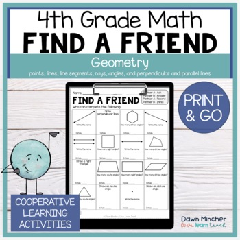 Lines and Angles Geometry Review | Find a Friend