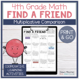 Multiplicative Comparisons and Word Problems Review | Find a Friend