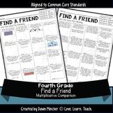 Multiplicative Comparison Word Problems   Find a Friend