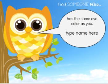 Find Someone Who: A Digital Scavenger Hunt!