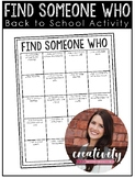 Find Someone Who Activity