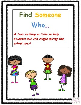 Find Someone Who...  Back to School Activity (NYC Edition)