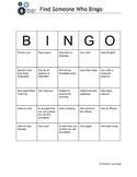 Find Someone Who Bingo