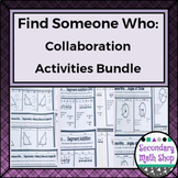Find Someone Who Collaboration Activities
