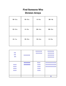 Find Someone Who Division Array
