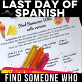 Find Someone Who: Este verano  future tense) summer plans