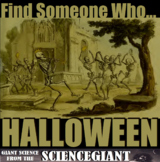 Find Someone Who - Halloween