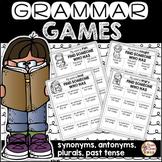 Synonyms, Antonyms, Past Tense, Plurals