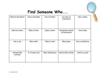 Find Someone Who Icebreaker