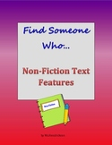 Find Someone Who... Non-Fiction Text Features