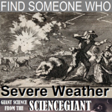 Find Someone Who - Severe Weather