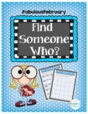 Find Someone Who - Staff Version