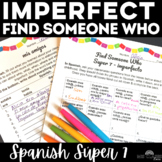 Spanish High Frequency Verbs Imperfect Review Find Someone