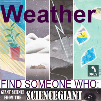 Find Someone Who - Weather