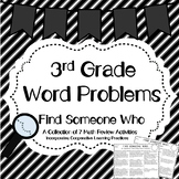 Word Problems Find Someone Who Activity