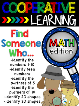 Cooperative Learning: Find Someone Who...Math Edition