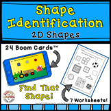 Find That Shape Boom Cards and Worksheets