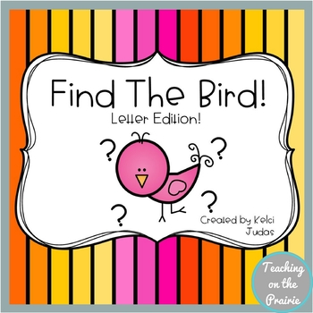 Find The Bird! A Letter Recognition Game