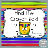 Find The Crayon Box!