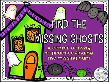 Find The Missing Ghosts Subtraction Game