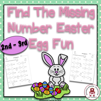 Find The Missing Number Easter Egg Fun