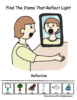 Find The Objects That Show Reflection